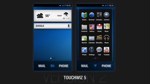 Samsung TouchWiz 5 - Concept by jakeroot