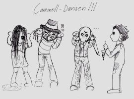 Scary Caramell dance by blackangelofmine
