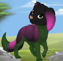 Sango Puppy by InuyashaRules6596