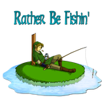 I'd Rather be Fishin' by FuriousWinter