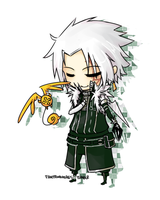 D. Gray Man - Allen Walker by Fire-from-the-Ashes