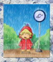 Naruto - Standing in the Rain by Lyrin-83