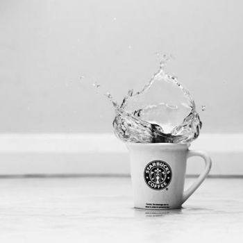 starbucks splash by chpsauce