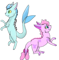 Free Dragon-Cat Adoptables CLOSED by Perry--Agent