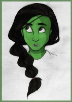 Elphaba - Wicked by PrillaLightfoot