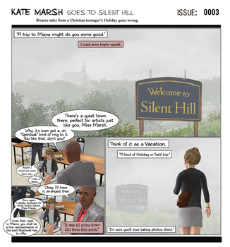 KM Goes to Silent Hill [Issue# 0003] by campinkarl
