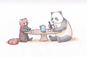 Panda Party by soyrwoo