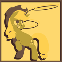 Applejack in Yellow by Zacatron94