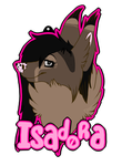 ISADORA Badge by xThornography
