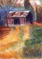 Old Barn by h-i-l-e-x