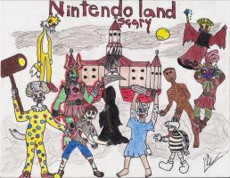 Nintendo Scary Land 2011 by foxanime101