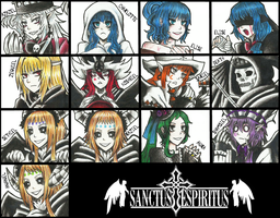 Sanctus Espiritus All Characters by SabrinaMelisa