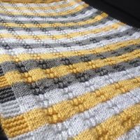 Knitted Stripes by anerdycrocheter