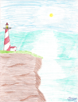 Lighthouse shore by 3600LetGo