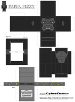 Paper Pezzy- King Kong by CyberDrone