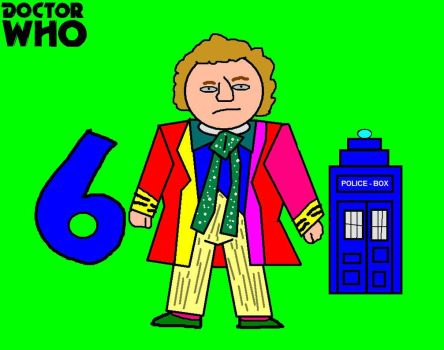 Doctor Who Minis - Sixth Doctor by ESPIOARTWORK-102