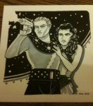 Flash Gordon and Dale Arden by JoelRCarroll