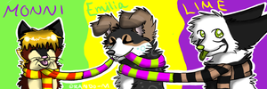 Icons for Monni, Me and Koira0099 by Rando-M
