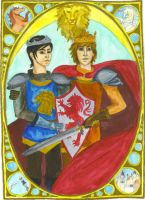 Portrait of Kings by ReniMilchstrasse