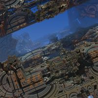 Fractal-Space Station by Ox3ArtStock