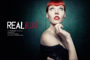 Real Blood by ModelMissDragonfly
