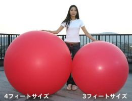 3 And 4 Foot Cholorprane Balloons by billoon45