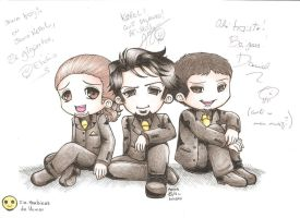 Cia. Barbixas de Humor, chibi by Killer-Chan