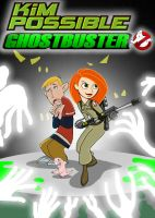KIM AND RON GHOSTBUSTERS by mayozilla