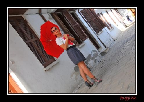 Red Umbrella 2 by TagyK1