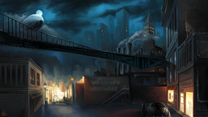 The Silent City by Aziore
