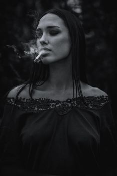 smoking by DenisGoncharov
