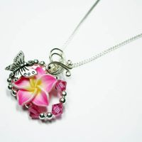 Butterfly Perfume Pendant by Create-A-Pendant
