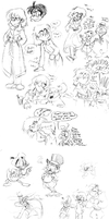Muppets, Ducks and OCs, Oh My by CrackpotComics