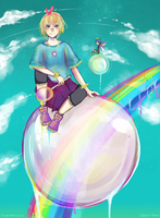 [collab] - eloquent-phoney by fawnley
