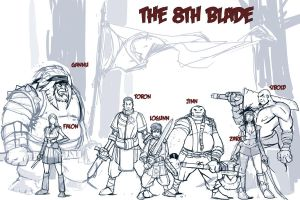 The 8th Blade by RiceandEggs