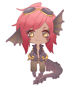Stub ChibI Red by oWinTer
