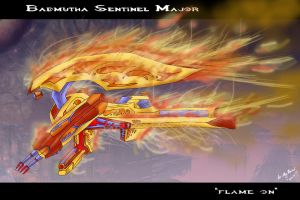 Badmutha Sentinel Major by drskytower