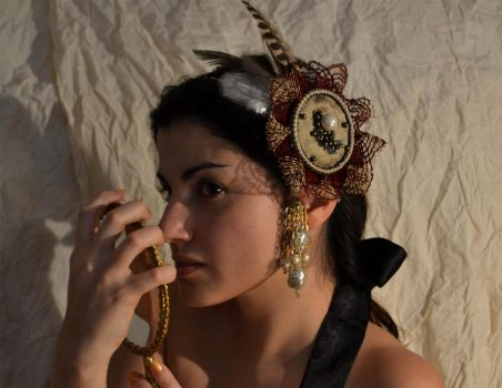 Eclipse HeadDress by AtelierSeekat