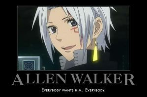 Everyone Wants Allen Walker by Onikage108