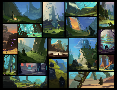 Obelisk Thumbnails by F87w