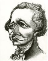 Alexander Hamilton by Caricature80