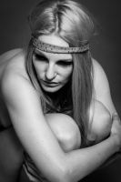 Model with hairband by DWaschnigPhotography