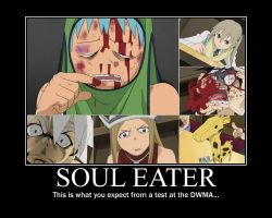 Funny Soul Eater Test by kyuubifan55