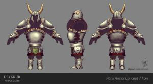 Iron Armor Concept by slipled