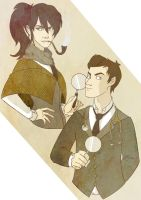 Holmes and Watson by crash-bang-wallop
