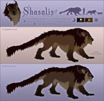 Shasalis: Beast Reference (OUTDATED) by Versispellis