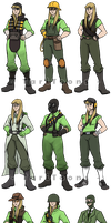 Team Fortress 2 Personas by TariToons