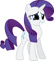 Awkward Rarity by Soren-the-Owl