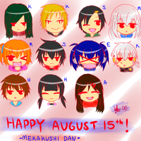 Happy August 15th 2013!!! (for KP Tumblr Collage) by shieonn