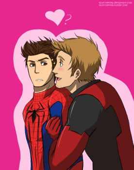 Wade and Peter by Vivalski